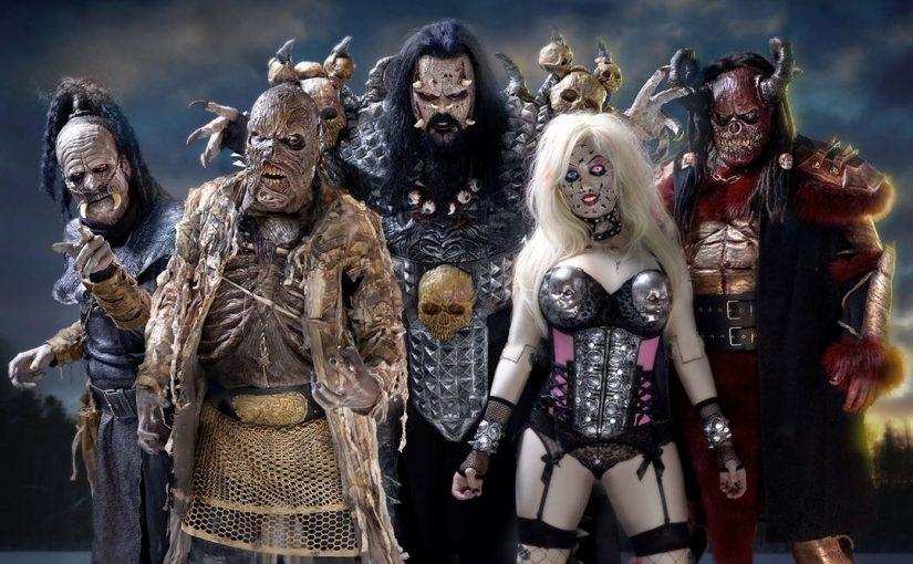 Новое текстовое видео Lordi